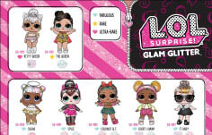 Glam Glitter Series Collector's Guide