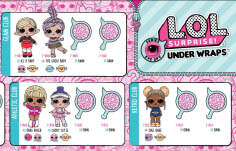 Series Eye Spy Under Wraps Tots Collector's Guide